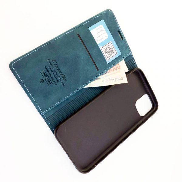Bao da điện thoại Case me cao cấp xanh cổ vịt1
