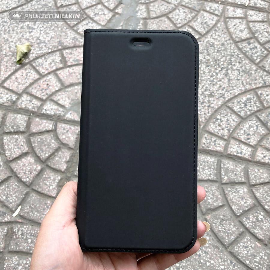 Bao da điện thoại cao cấp Dux Ducis đen