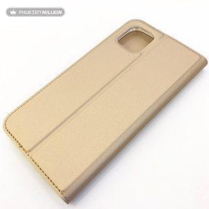 Bao da điện thoại cao cấp Dux Ducis vàng1