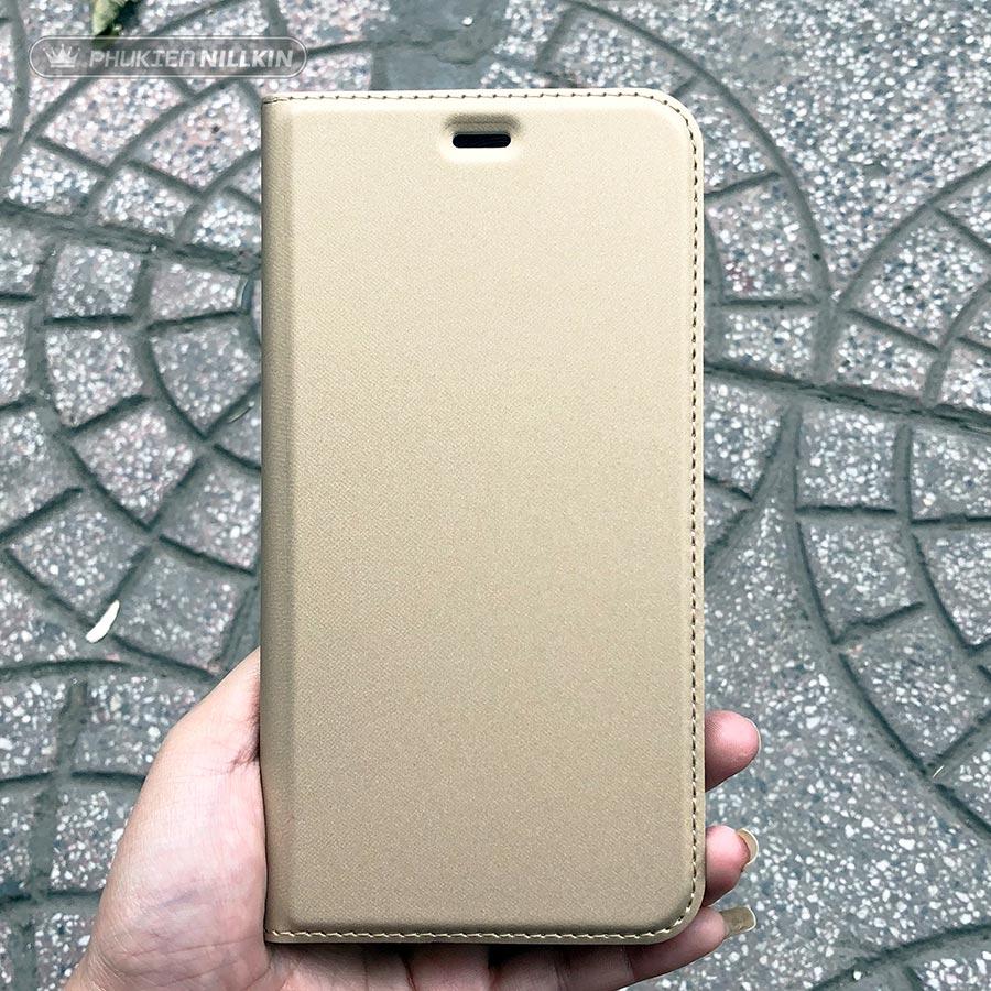 Bao da điện thoại cao cấp Dux Ducis vàng