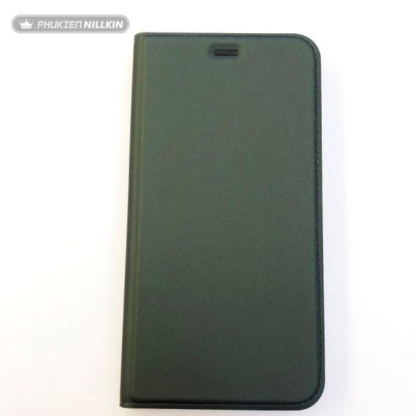 Bao da điện thoại cao cấp Dux Ducis xanh bộ đội3
