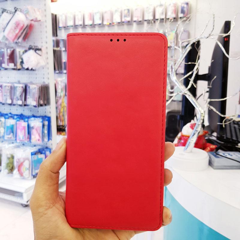 Bao da điện thoại cao cấp Dzgogo đỏ