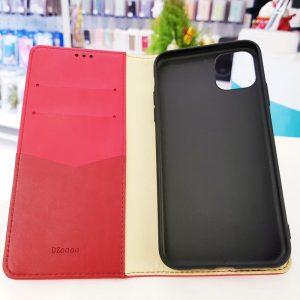 Bao da điện thoại cao cấp Dzgogo đỏ3