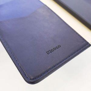 Bao da điện thoại cao cấp Dzgogo xanh than5