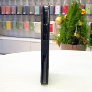 Bao da điện thoại Fashion Case xanh than1