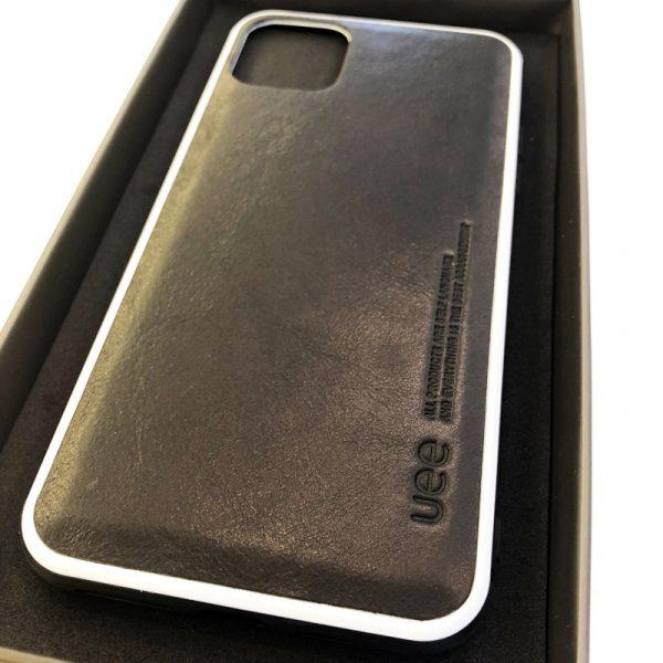 Ốp lưng điện thoại da Uee đen1