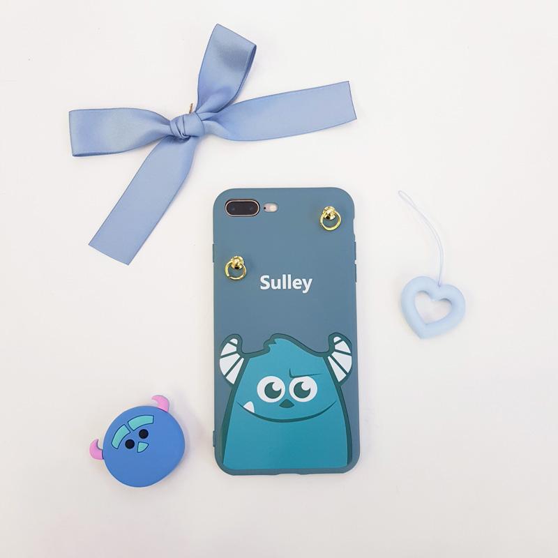 Ốp lưng iPhone 7 Plus dễ thương hình quái vật Sulley