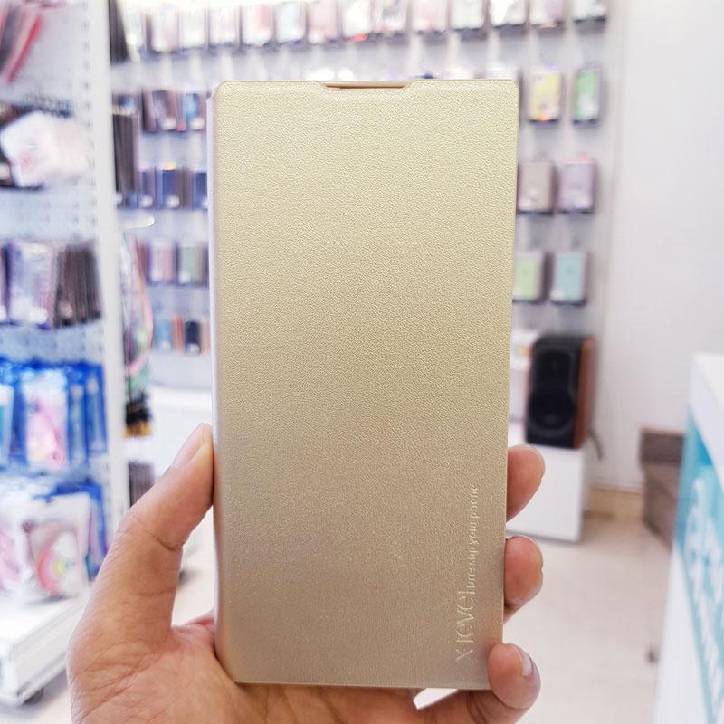 Bao da điện thoại samsung x-level vàng1