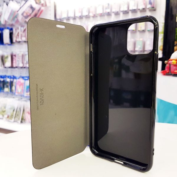 Bao da điện thoại x-level đen2