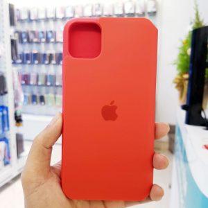 Bao da điện thoại chống bẩn logo táo đỏ3