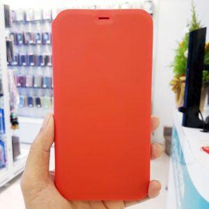 Bao da điện thoại chống bẩn logo táo đỏ2