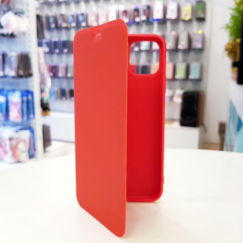 Bao da điện thoại chống bẩn logo táo đỏ