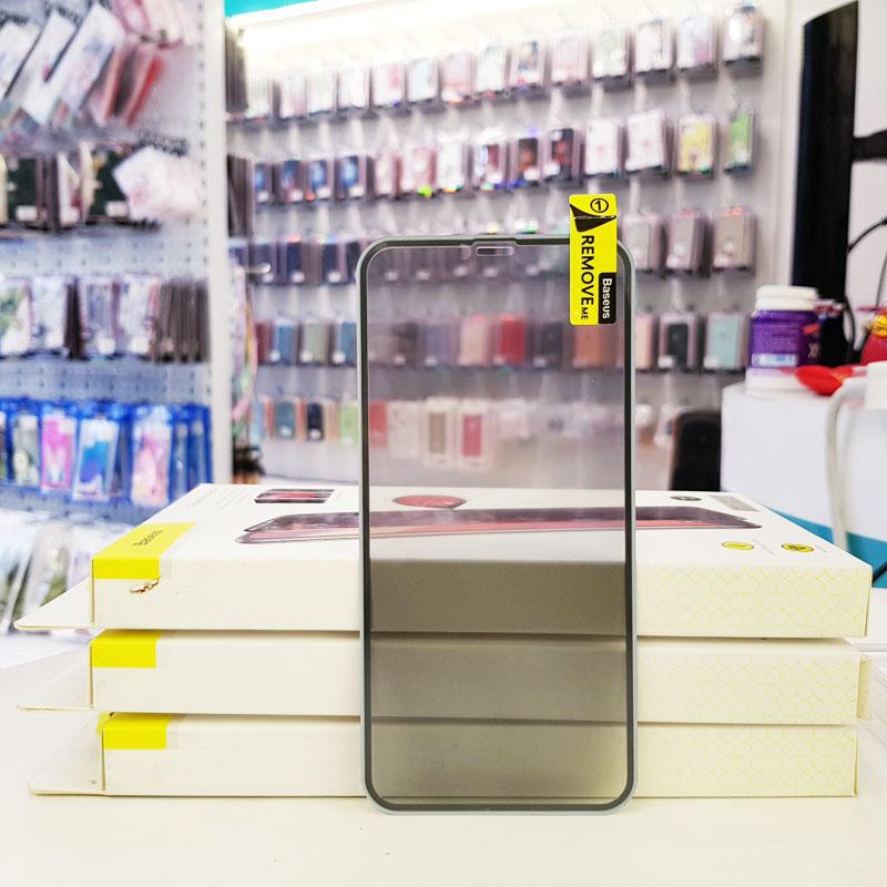 Cường lực chống nhìn trộm iPhone Baseus2