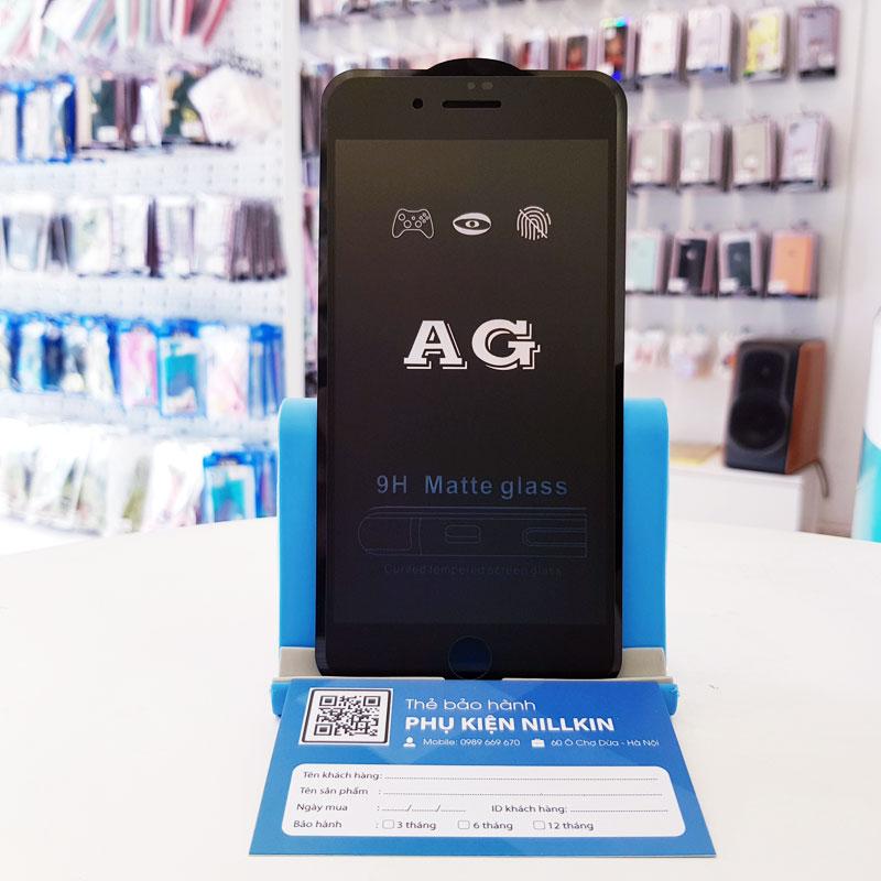 Dán cường lực chống vân iPhone AG7