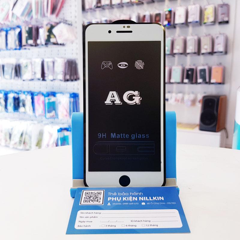 Dán cường lực chống vân iPhone AG6
