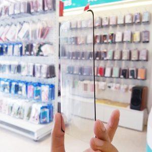 Dán cường lực full keo Samsung cảm ứng nút home dưới màn hình6