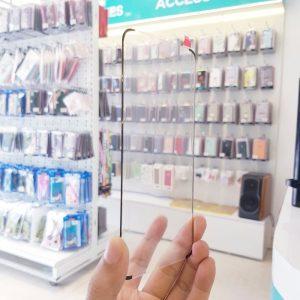 Dán cường lực full keo Samsung cảm ứng nút home dưới màn hình5