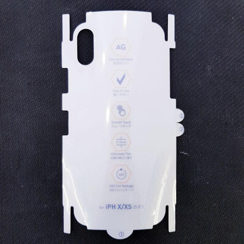Miếng dán ppf iphone chống vân mặt sau5