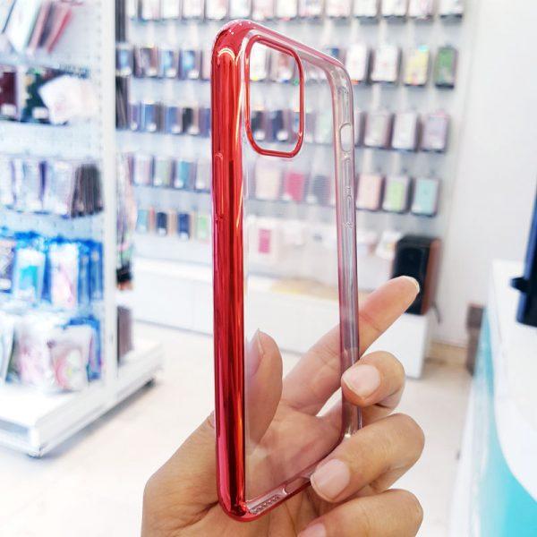 Ốp lưng điện thoại Dfifan lưng trong viền đỏ3