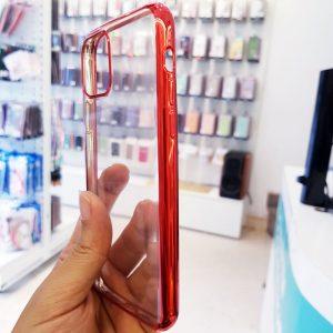 Ốp lưng điện thoại Dfifan lưng trong viền đỏ2