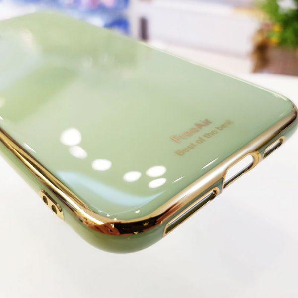 Ốp lưng điện thoại Free Air xanh cốm4