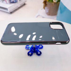 Ốp lưng điện thoại Free Air kèm quả bông xanh dương4
