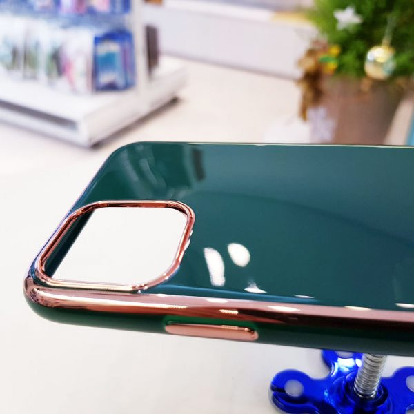 Ốp lưng điện thoại Free Air kèm quả bông xanh ngọc3