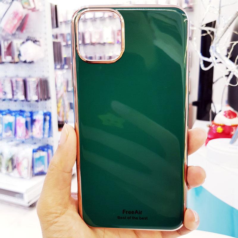 Ốp lưng iPhone Xs Max cao cấp thương hiệu Free Air xanh ngọc