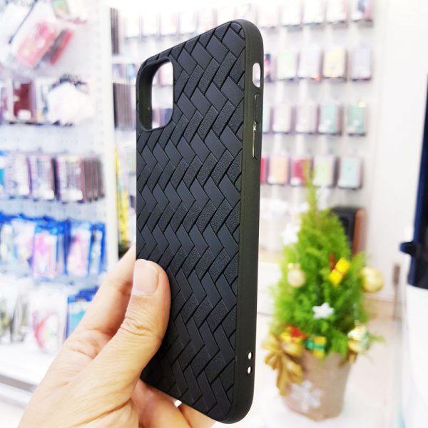 Ốp lưng điện thoại Joyroom đan lưới đen3