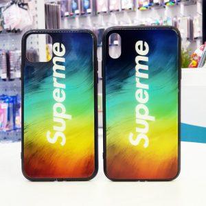Ốp lưng điện thoại Superme led