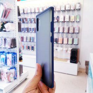 Ốp lưng điện thoại chống vân Viseaon viền xanh than2