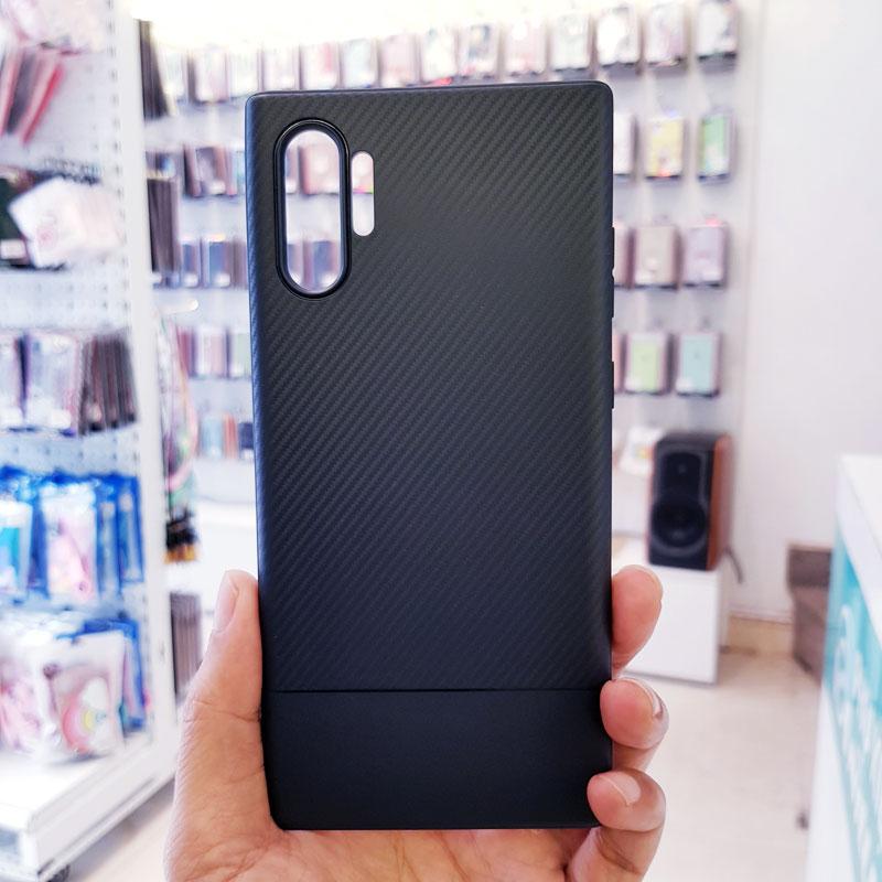 Ốp lưng điện thoại samsung vân carbon xanh than1