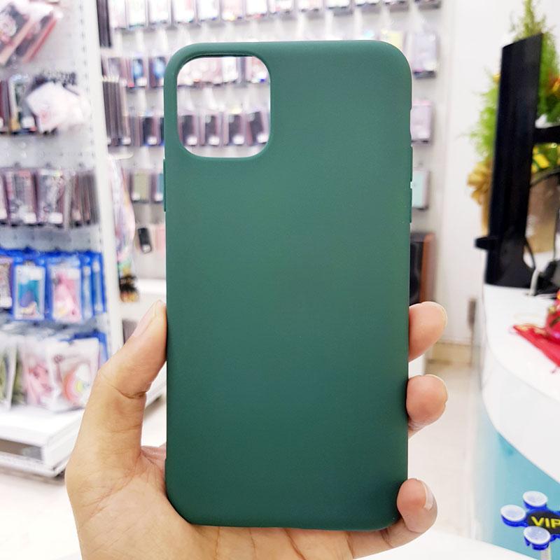 Ốp lưng điện thoại chống bẩn kèm quai xanh bộ đội1