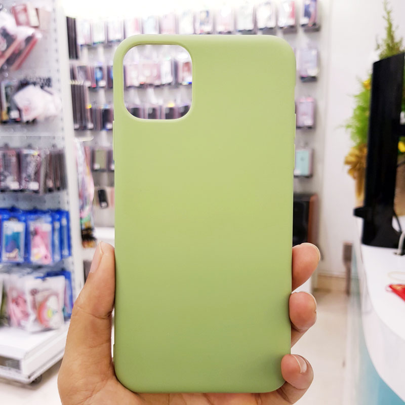 Ốp lưng điện thoại chống bẩn kèm quai xanh cốm1