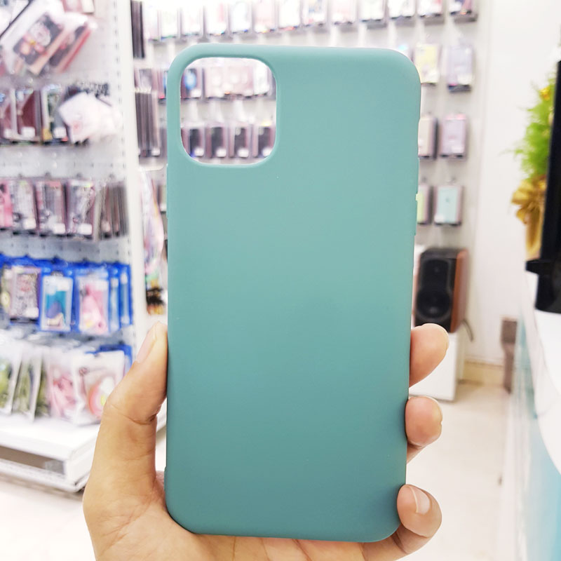 Ốp lưng điện thoại chống bẩn kèm quai xanh dương1