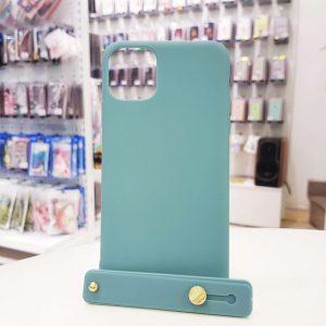 Ốp lưng điện thoại chống bẩn kèm quai xanh dương