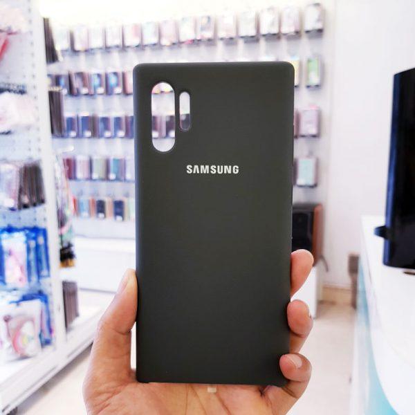 Ốp lưng điện thoại chống bẩn samsung đen1