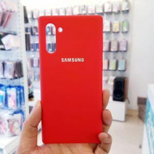 Ốp lưng điện thoại chống bẩn samsung đỏ1