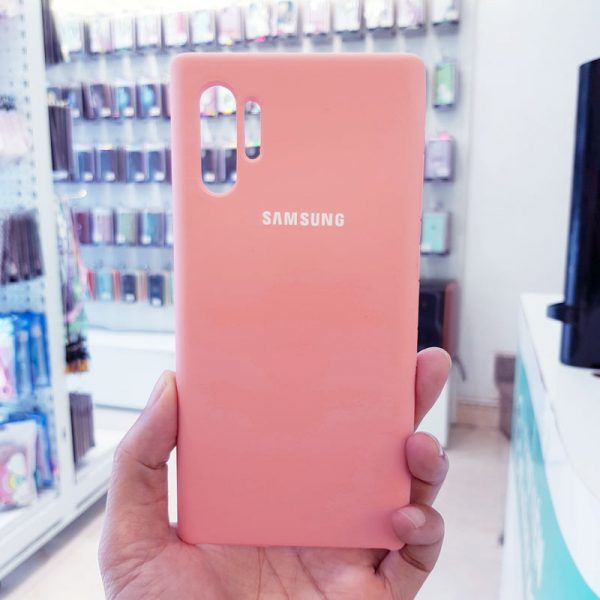 Ốp lưng điện thoại chống bẩn samsung hồng1