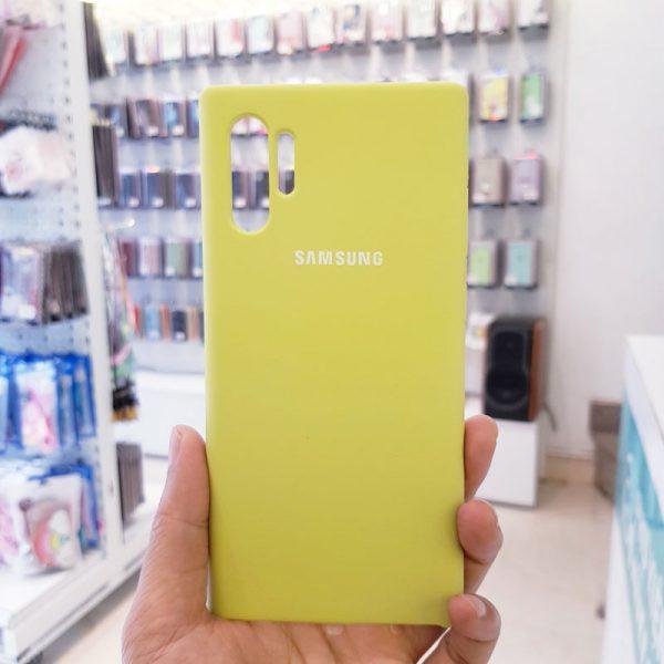 Ốp lưng điện thoại chống bẩn samsung xanh cốm3