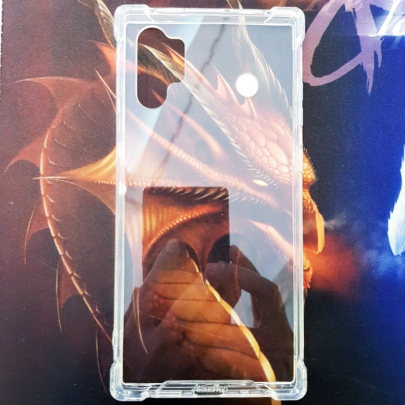Ốp lưng Note 10 Plus chống sốc trong suốt Aitouchbo