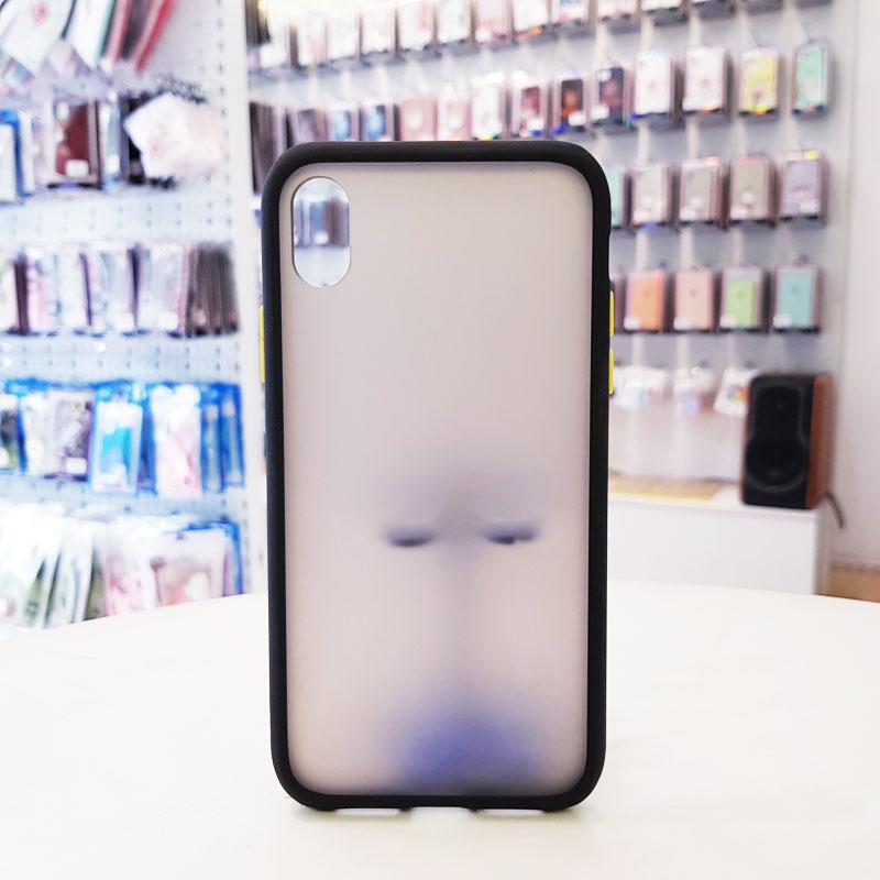 Ốp lưng iPhone X chống vân tay Aolibao đen