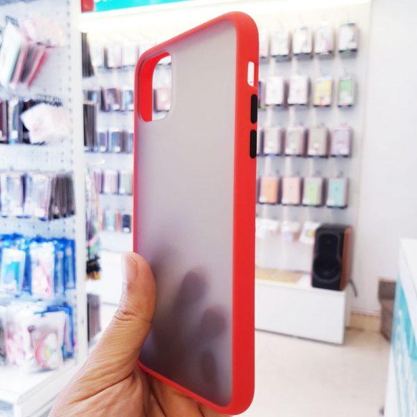 Ốp lưng điện thoại chống vân Aolibao đỏ2