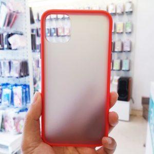 Ốp lưng điện thoại chống vân Aolibao đỏ1