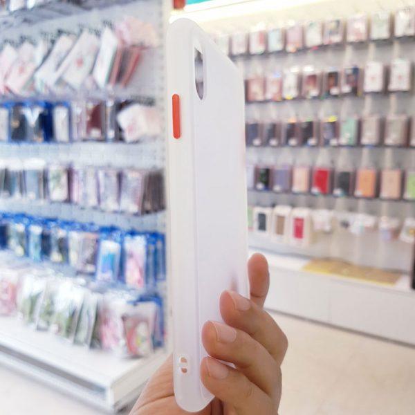 Ốp lưng điện thoại chống vân Aolibao trắng2