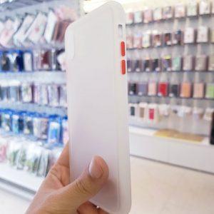 Ốp lưng điện thoại chống vân Aolibao trắng1