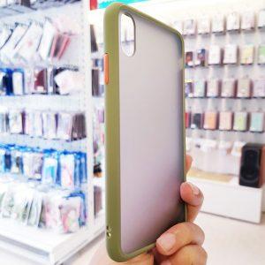 Ốp lưng điện thoại chống vân Aolibao xanh cốm3