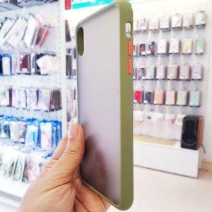 Ốp lưng điện thoại chống vân Aolibao xanh cốm2