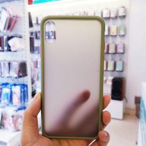 Ốp lưng điện thoại chống vân Aolibao xanh cốm1
