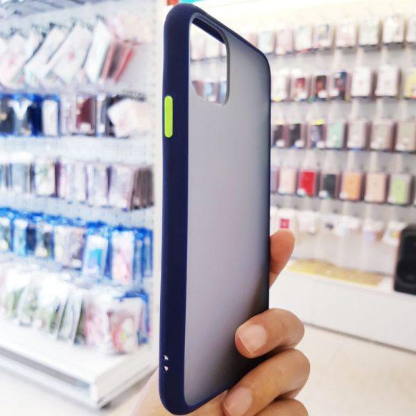 Ốp lưng điện thoại chống vân Aolibao xanh than3